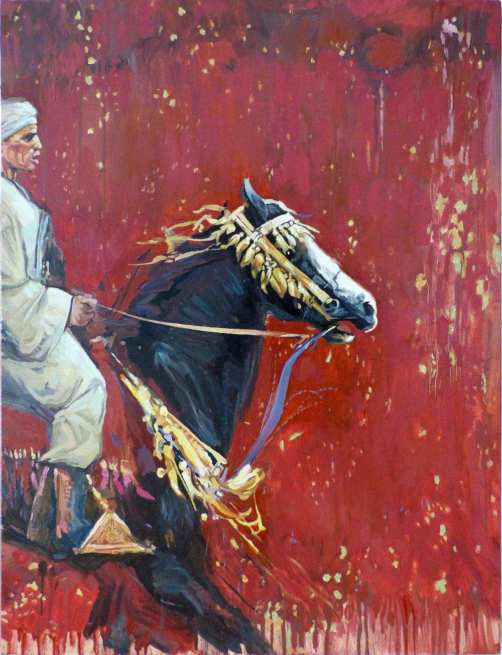 Le-Chevalier-arabe-et-son-pur-sang_Oleg-Petounine_2005